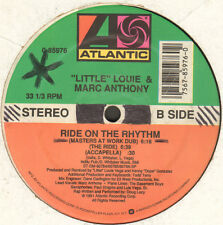LITTLE LOUIE & MARC ANTHONY - Ride On The Rhythm - 1991 - Atlantic - 0-85976 Usa
