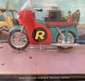 BATMAN #244 ROBIN'S BIKE DIECAST MODEL 1:22 DC COMICS MOTORCYCLE 60s COOL STYLE!