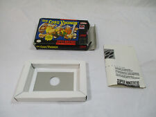 THE LOST VIKINGS Super Nintendo SNES Authentic Box & Inserts NO GAME CART!