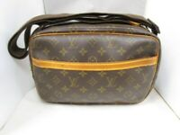 LOUIS VUITTON Reporter PM Crossbody Shoulder Bag M45254 Monogram Canvas Used