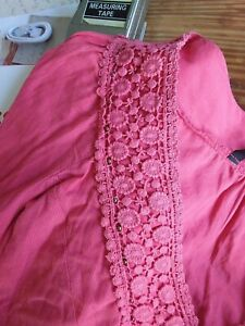 David Emanuel Top Size 20 To Size 22 Pinky Peachy Colour see all photos
