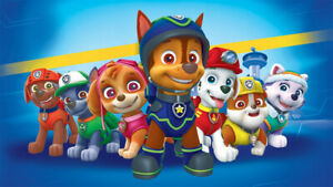 Paw Patrol Cbeebies Poster Bedroom Wall Art Printed on A3 Gloss Photo Paper