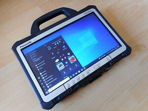 Tablette Pc Panasonic Toughbook CF-D1 , SSD 250 , 8 Go RAM, Windows 10 PRO x64