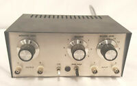 Custom vintage Monitor Record level with High Pass Filter Audio Audiophile