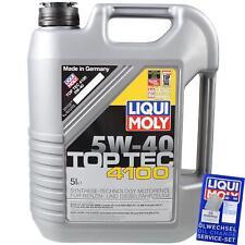5 Liter Liqui Moly 3701 Top Tec 4100 5W-40 Öl Motoröl Engie Oil