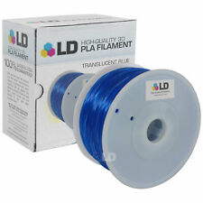 LD Translucent Blue 1.75mm 1kg PLA 3D Printer Filament