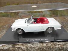 AUTO VINTAGE FIAT 124 SPORT SPIDER 1400 - 1967-  SCALA 1/24