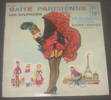 Offenbach Gaite Parisienne Chopin Les Sylphides Ormandy Columbia CL 741 LP EX