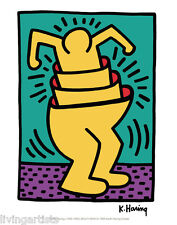 Keith Haring MULTI-MAN 11x17 Giclee Pop Art Print