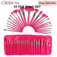 Beauty Creations The Neon Pink 24 PCS Makeup Brush SET
