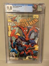 Web of Spider-Man #97 CGC 9.0 1st Appearance Nightwatch Custom Spider-Man Label