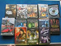 DVD Bundle - 15 DVDs - F