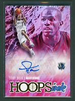 2020-21 TONY DELK AUTO PANINI HOOPS INK AUTOGRAPHS