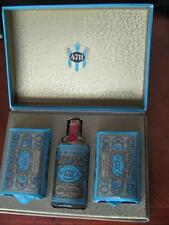 German Kolnisch Wasser 4711 Cologne (FULL Sealed 1.8 oz) Soaps Gift Set Boxed