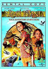 Nim's Island (DVD, 2012) NIMS ISLAND - Jodie Foster & Gerard Butler - disp,24hrs