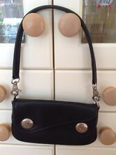 CUTE MANGO BLACK SMALL SHOULDER BAG/WRISTLET WITH DETACHABLE STRAP BNWOT