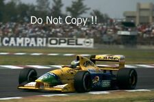Michael Schumacher BENETTON B192 F1 Stagione 1992 foto 3