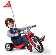 Radio Flyer Big Sport Chopper Tricycle 16 Inch Front Wheel, Red
