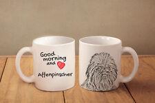 """Affenpinscher - ein Becher """"Good Morning and love"""" Subli Dog, CH"""