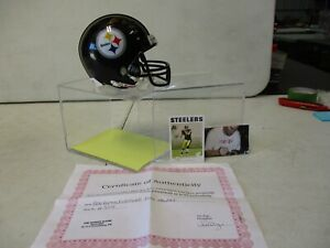 Ben Roethlisberger Pittsburgh Steelers Signed Riddell Mini Helmet