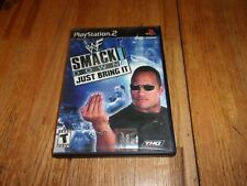 WWE SmackDown Just Bring It Sony PlayStation PS2 Game