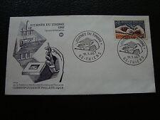FRANCE - enveloppe 1er jour 19/3/1966 (journee du timbre) (cy71) french