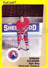 1989-90 ProCards AHL #189 Norman Desjardins