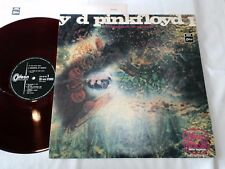 PINK FLOYD A SAUCERFUL OF SECRETS JAPAN ODEON ORIGINAL STEREO OP-8743 RED WAX