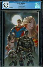 BATMAN SUPERMAN #1 CGC 9.6 WARREN LOUW EXCLUSIVE VIRGIN VARIANT COVER C