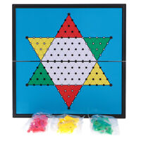 Magnetic Checkers Chess Travel Board Game for Kids Adult Party Game Set New