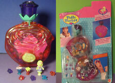Polly Pocket Mini NEU ♥ Sweet Roses ♥ Kristall Rose ♥ 1996 ♥ OVP ♥ NEW ♥ RAR ♥
