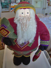 European Soft Body Santa Claus 20 Inches Norwegian Decorative Piece