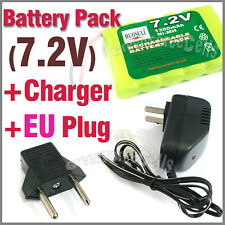 1 x 7.2V 1300mAh Rechargeable Battery Pack + Charger EU