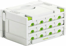 Festool Systainer 491986 sys 3-sort / 12 12 tiroirs sortainer