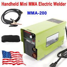 110V 40A MMA-200 Handheld Mini Electric Welding Machine Welding Inverter ARC MMA