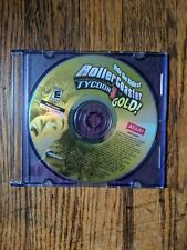 RollerCoaster Tycoon 3: Gold (PC, 2005) Disc Only