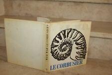 LE CORBUSIER - WER WAR ? text von maurice besset (1968)