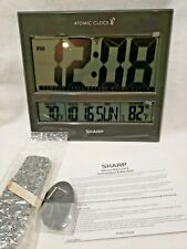 Digital Atomic Wall Clock Jumbo Display