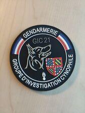 Ecusson Patch De Police Gendarmerie Crs Obsolète Pour Collection