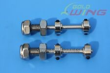 KUZA Stainless Steel Axle Kit  for 50-70CC RC Planes               US Vendor