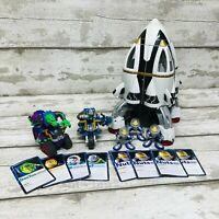 ELC Planet Protectors Rocket Space Ship Playset with Figures & Cards Bundle