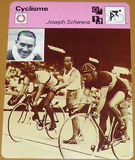 CYCLISME CICLISMO JOSEPH SCHERENS BELGIQUE BELGIË CHAMPION MONDE DE VITESSE
