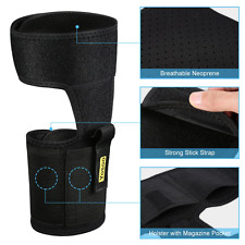 CONCEALED CARRIER TM Ankle Holster For Concealed Carry Pistol Universal Leg
