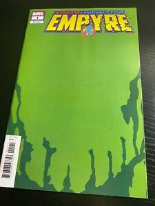 Empyre #1 2020 MARVEL Comics 1:200 Green Skrull Variant Cover NM