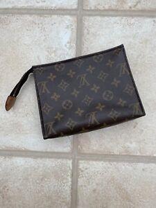 Louis Vuitton Toiletry Pouch 19 Bag Authentic Genuine