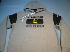 Nike Mens Pittsburgh Steelers Retro HISTORIC Hoodie Sweatshirt Medium
