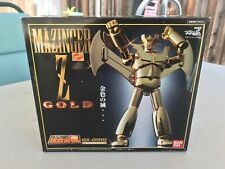 Soul of Chogokin GX-01RG GOLD MAZINGER Z BANDAI (US Seller) New