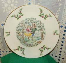 Vintage Merry Christmas by Royal Doulton Plate~1977~First Edition Annual Series