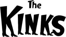 The Kinks Sticker - Sixties 60s mod bands 60s scooter side panel toolbox ..