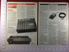Tascam 244 Portastudio vintage magazine article 1980